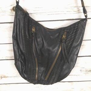 Ecote UO Small Crossbody Purse Bag Vegan Black
